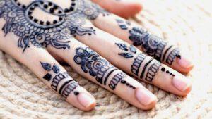 mehndi design - hand