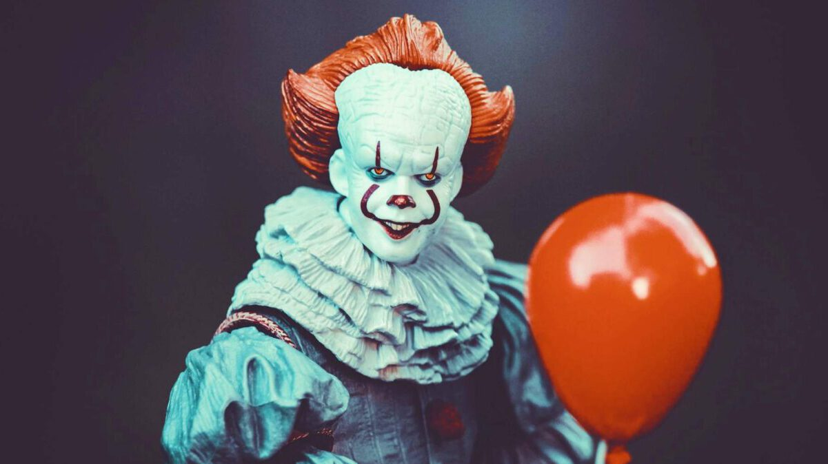 scary clown - as seen in not too scary movies