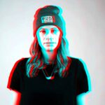 Can psilocybin cure depression? study says yes - trippy girl in hat